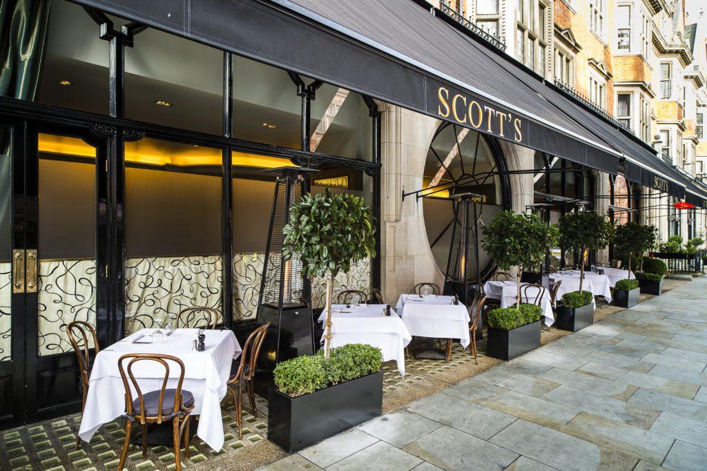 Scotts Restaurant Paris